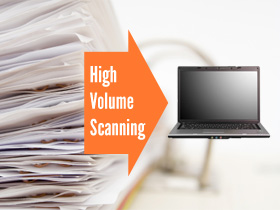 High Volume Document Scanning